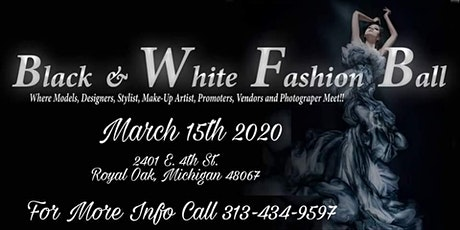 BLACK & WHITE FASHION BALL tickets