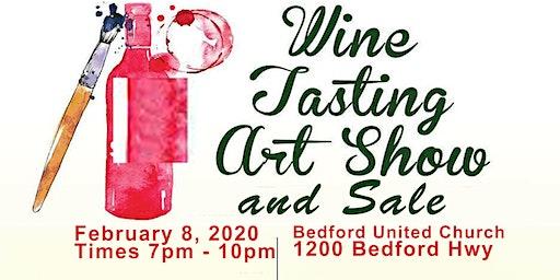 Wine Tasting and Art Show & Sale