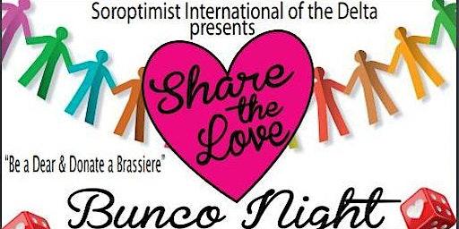 Share The Love Bunco Night