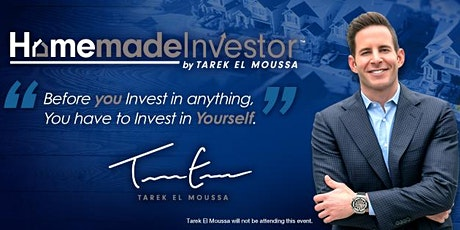 Free Homemade Investor by Tarek El Moussa Workshop! Kapolei Jan 23rd tickets