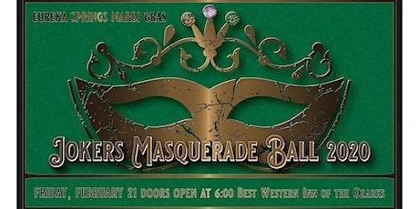 Eureka Springs Mardi Gras Joker's Ball tickets