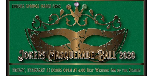 Eureka Springs Mardi Gras Joker's Ball