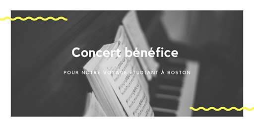 Concert bénéfice  - Boston