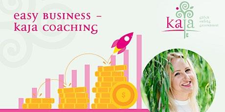 Easy business - KaJa-Coaching Tickets
