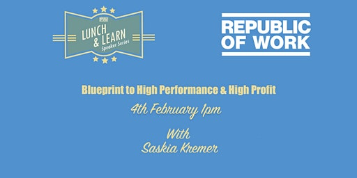 Blueprint to High Performance & High Profit