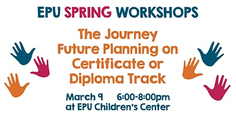 The Journey Future planning on Certificate or Diploma Track tickets