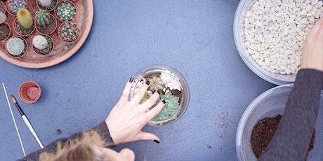 Create a  Cactus  & Succulent  Terrarium tickets