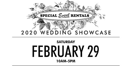 2020 Wedding Showcase at Special Event Rentals tickets