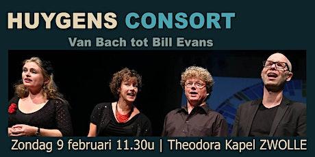 Concert Huygens Consort - van Bach tot Bill Evans tickets