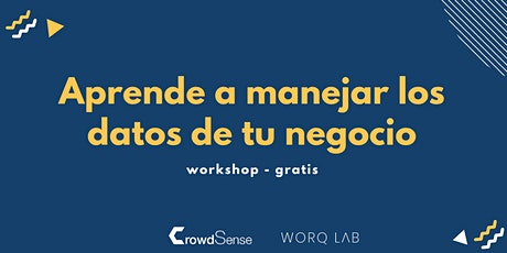 Aprende a manejar los datos de tu negocio - Workshop tickets