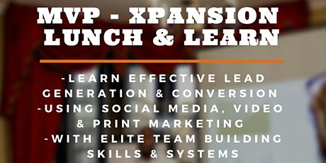 MVP - XPANSION Lunch & Learn Masterclass (Charleston) tickets