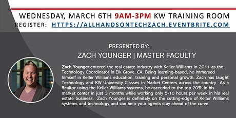 All Hands On Tech w/Zach Younger tickets