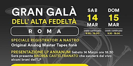 Gran Galà dell'Alta Fedeltà 2020 - Roma