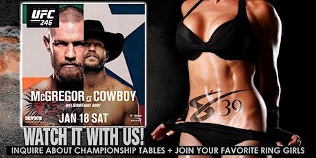 UFC 246 - McGregor vs Cowboy at Sapphire 39 Midtown NYC tickets