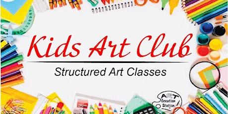 Kids Art Club tickets