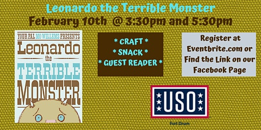 "USO Story Time ""Leonardo the Terrible Monster"""