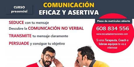 Charla informativa: Curso Comunicación efectiva asertiva - confirmación pre entradas