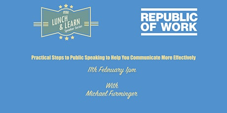 Practical Steps to Public Speaking to Help You Communicate More Effectively tickets