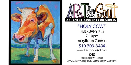 "Paint Night: ""Holy Cow"" tickets"