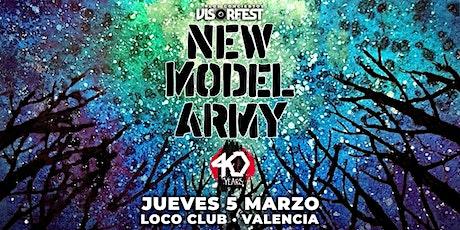 New Model Army entradas
