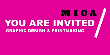 GRAPHIC DESIGN & PRINTMAKING PREVIEW DAY tickets