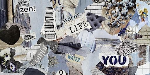 In Vision: DIY Collage Journal Workshop - Short Hills