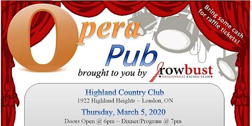 Rowbust Presents - Opera Pub 2020