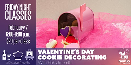 Friday Class: Valentine's Day Cookie Decorating tickets