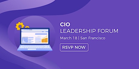 CIO Leadership Forum - San Francisco tickets