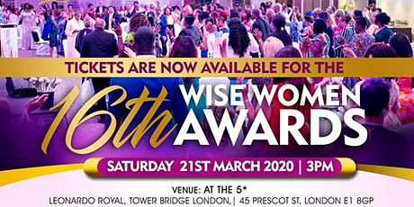 16th Wise Women Awards tickets