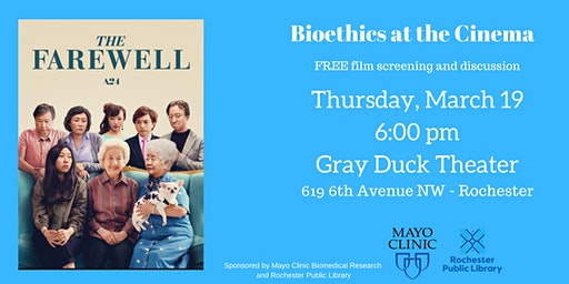 The Farewell - Bioethics at the Cinema