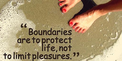 Establishing Healthy Boundaries online class