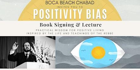 Positivity Bias - Book Signing & Talk tickets