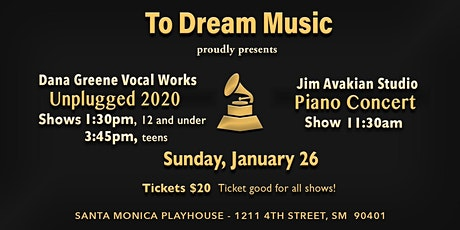 To Dream Music's Winter Concerts 2020 tickets