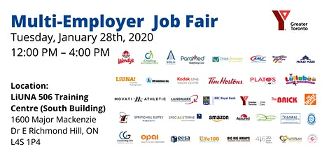 FREE Multi-Employer Job Fair  tickets