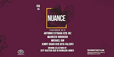 Nuance @ Treehouse Miami tickets