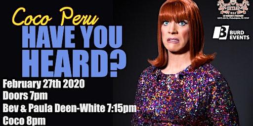 Coco Peru: Have You Heard?