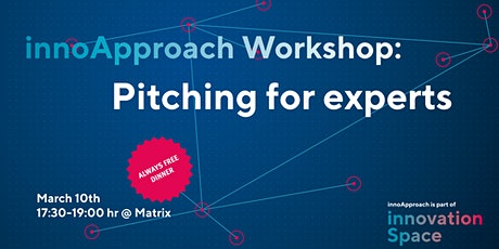 innoApproach: Pitching for experts tickets