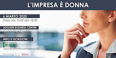 L'IMPRESA È DONNA - Cagliari biglietti