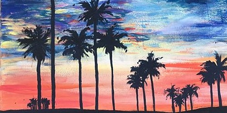 Best Paint and Sip 'California Dreamin' tickets