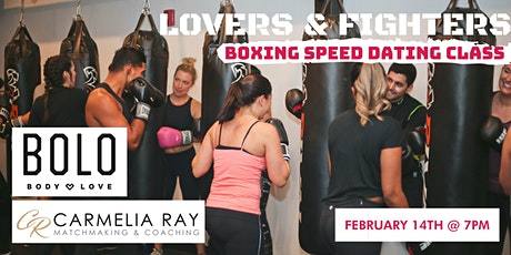Lovers and Fighters - Valentines Singles Speed Boxing Event tickets