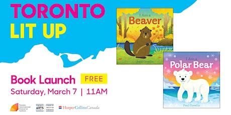 Toronto Lit Up: I Am a Polar Bear and I Am a Beaver billets