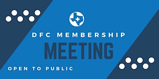 DFC Membership Meeting