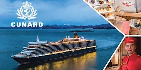邀请您参加1月29 日冠达邮轮 (Cunard Cruise) 之夜 tickets