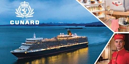 邀请您参加1月29 日冠达邮轮 (Cunard Cruise) 之夜