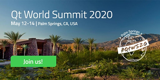 Qt World Summit 2020 Palm Springs