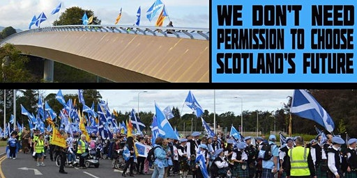 Moray Bus to Inverness Freedom March, 25th January