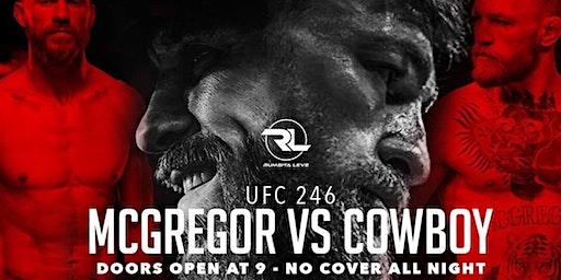XoXo Besos  UFC 246:Conor McGregor vs Cowboy Slate