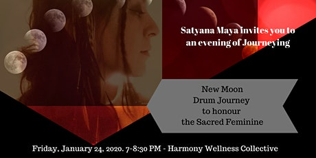 New Moon Drum Journey to Honour the Sacred Feminine tickets