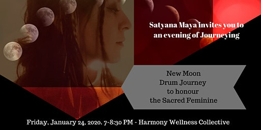 New Moon Drum Journey to Honour the Sacred Feminine